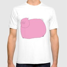 Pig SMALL Mens Fitted Tee White