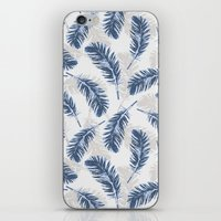 My Blue Feathers iPhone & iPod Skin