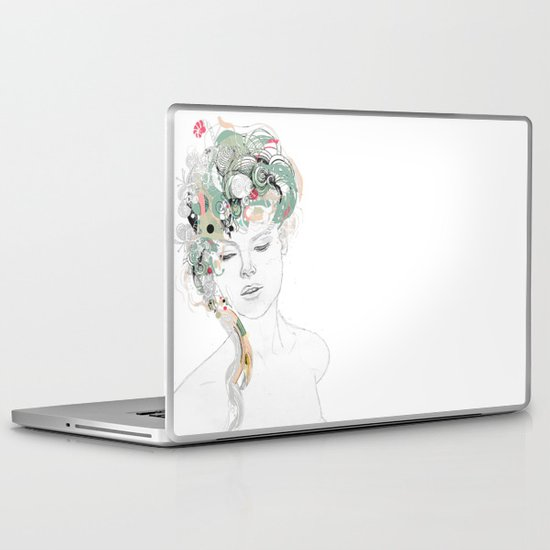 Beauty waiting Laptop & iPad Skin