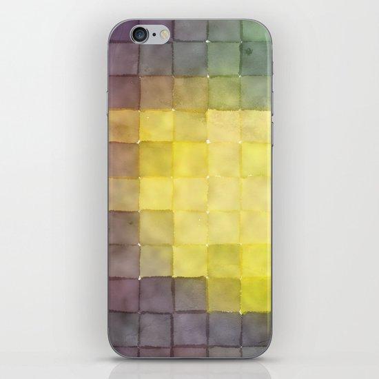 Polaroid Pixels V (Leaf heart) iPhone & iPod Skin