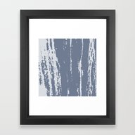 Framed Art Print featuring Scratched Paint by Mailboxdisco