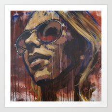 Libby in the Sun Art Print