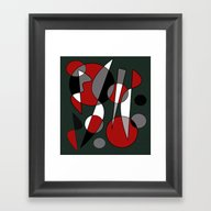 Abstract #140 Framed Art Print