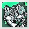 Wolf 2014-0982 Canvas Print