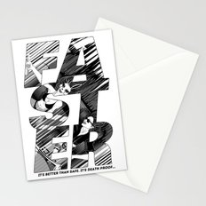Faster II Stationery Cards