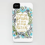 Anything's Possible iPhone (4, 4s) Slim Case