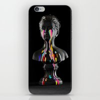The Girl With Stars In H… iPhone & iPod Skin