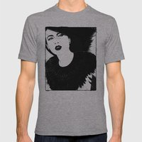 Loco Girl Mens Fitted Tee Athletic Grey SMALL