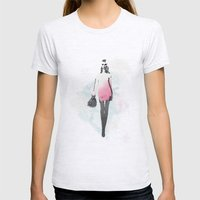 Fashion Womens Fitted Tee Ash Grey SMALL