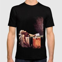 The Death of Marrat Mens Fitted Tee Black SMALL