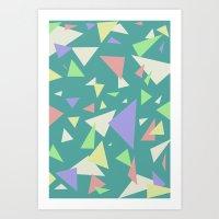 Triangl'd  Art Print