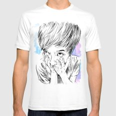 facemelt Mens Fitted Tee White SMALL