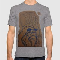 HANDMADE Mens Fitted Tee Athletic Grey SMALL