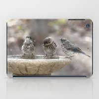Bath Times Three iPad Case