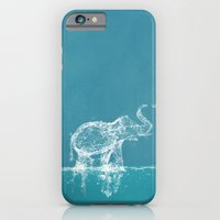 iPhone & iPod Case featuring Elephant by Paula Belle Flores