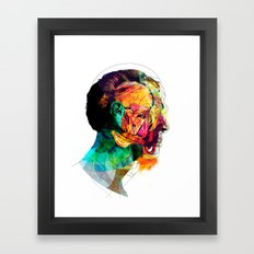 Perfil260913 Framed Art Print