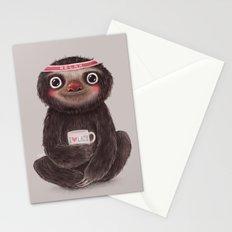 Sloth I♥lazy Stationery Cards