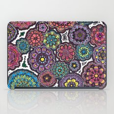 Psychedelic Flowers iPad Case