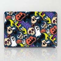 Spooky Pattern iPad Case
