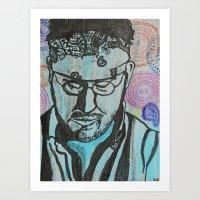 Paisley -- David Foster Wallace  Art Print