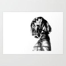 Inner Spirits. Stone. Art Print