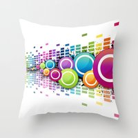 Get Freaky With Me! Throw Pillow