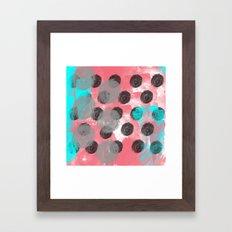 Stoked Strokes  Framed Art Print