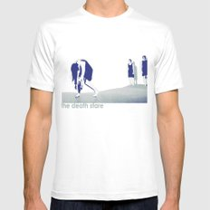 The Death Stare SMALL Mens Fitted Tee White