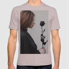 Black rose Mens Fitted Tee Cinder SMALL