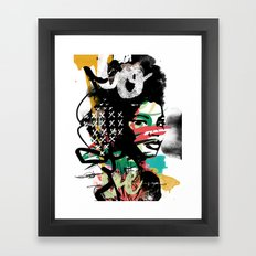 CountTheConfusion Framed Art Print