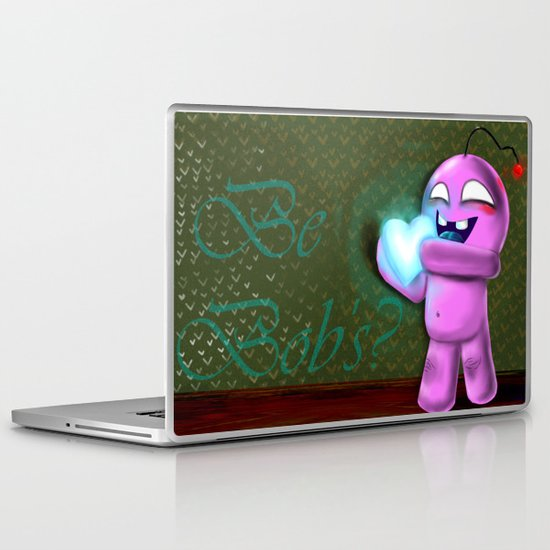 Valentine Bob Laptop & iPad Skin