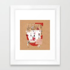 Front Line Framed Art Print