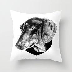 oh my dog ! Throw Pillow
