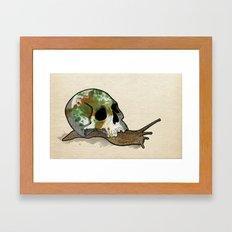 Slow Death Framed Art Print