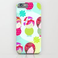 iPhone & iPod Case featuring Dolls Pattern by Rita Acapulco