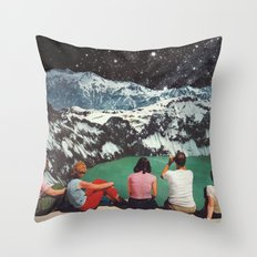 GLACIAL Throw Pillow