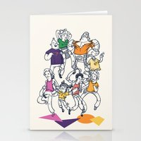 8 Tees Party! Stationery Cards