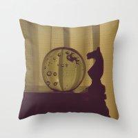 Bubblehorse Throw Pillow