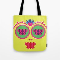 Indian face Tote Bag