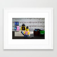 Death of the CD Framed Art Print