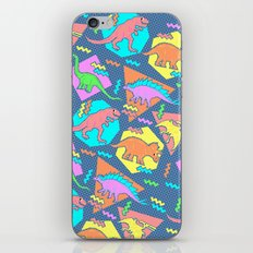 Nineties Dinosaur Patter… iPhone & iPod Skin
