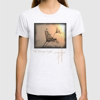The Evening Light Womens Fitted Tee Ash Grey SMALL