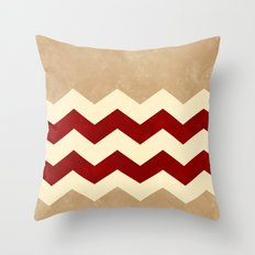 Sandstone, Deep Red And … Throw Pillow