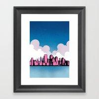 Getting Married In New York Framed Art Print
