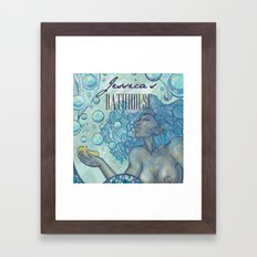 Jessica's Bathhouse Framed Art Print