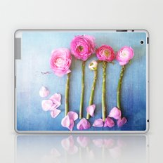 Wild Flowers and Spring Asparagus Laptop & iPad Skin