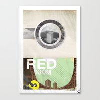 The RED Project Coming S… Canvas Print