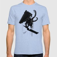 Pyramid Head Evolve Game Fanart Mens Fitted Tee Tri-Blue SMALL