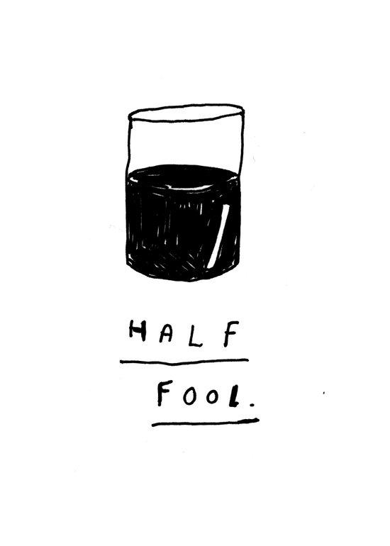 HALF FOOL Art Print
