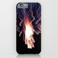 iPhone & iPod Case featuring Cloud of fire by Anna Wand